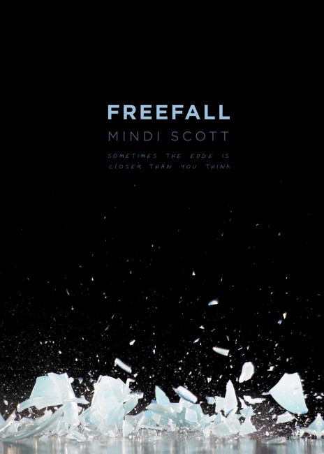 freefall cover with tagline